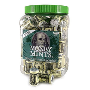 All City Candy Money Mints Rolls - Tub of 100 Mints Espeez For fresh candy and great service, visit www.allcitycandy.com