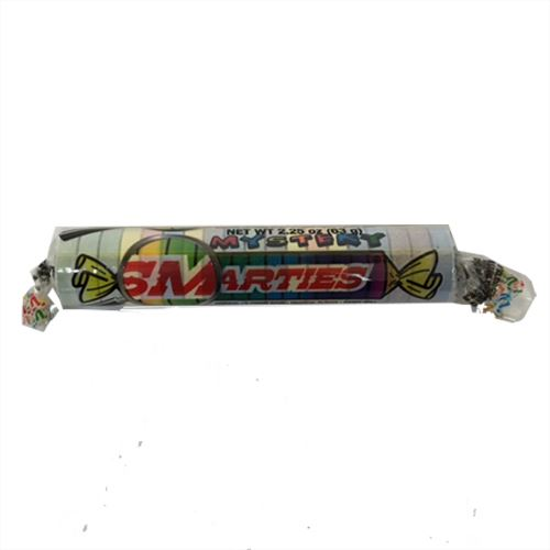 Mystery Smarties Candy Roll 2.2 oz. For fresh candy and great service, visit us at www.allcitycandy.com