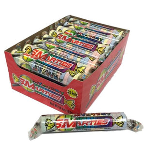 All City Candy Mystery Smarties Candy Roll 2.2 oz. Smarties Candy Company Case of 24 For fresh candy and great service, visit www.allcitycandy.com