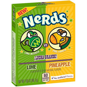 All City Candy Nerds Lime vs Pineapple Candy - 1.65-oz. Box Novelty Nestle For fresh candy and great service, visit www.allcitycandy.com