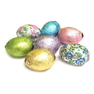 All City Candy Niagara Foiled Solid Milk Chocolate Eggs - 3 LB Bulk Bag Easter SweetWorks For fresh candy and great service, visit www.allcitycandy.com