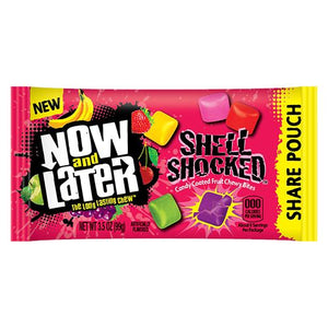 All City Candy Now and Later Shell Shocked Candy Coated Chewy Bites - 3.5-oz. Bag Chewy Ferrara Candy Company For fresh candy and great service, visit www.allcitycandy.com