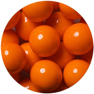 All City Candy Orange 1-Inch Gumballs - 2 LB Bulk Bag Bulk Unwrapped SweetWorks Default Title For fresh candy and great service, visit www.allcitycandy.com