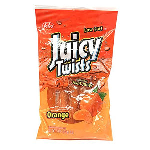 All City Candy Orange Juicy Twists Licorice - 5-oz. Bag Licorice Kenny's Candy Company For fresh candy and great service, visit www.allcitycandy.com