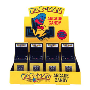 All City Candy Pac-Man Arcade Candy - .6-oz. Tin Novelty Boston America Case of 12 For fresh candy and great service, visit www.allcitycandy.com