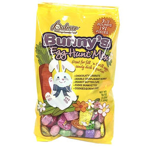 All City Candy Palmer Bunny's Egg Hunt Assorted Chocolate Mix - 3.5 LB Bag Easter R.M. Palmer Company For fresh candy and great service, visit www.allcitycandy.com