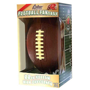 All City Candy Palmer Football Fantasy Hollow Milk Chocolate Football 22 oz. Novelty R.M. Palmer Company For fresh candy and great service, visit www.allcitycandy.com