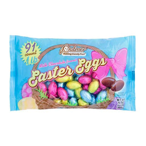 All City Candy Palmer Milk Chocolate Flavored Eggs - 16-oz. Bag Easter R.M. Palmer Company For fresh candy and great service, visit www.allcitycandy.com