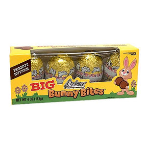 All City Candy Palmer Peanut Butter Big Bunny Bites Chocolate Eggs - 4-oz. Box Easter R.M. Palmer Company For fresh candy and great service, visit www.allcitycandy.com