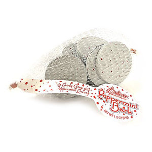 All City Candy Palmer Peppermint Bark Coins - 1.8-oz. Mesh Bag Christmas R.M. Palmer Company 1 Bag For fresh candy and great service, visit www.allcitycandy.com