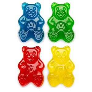 All City Candy Papa Gummi Bears Gummi Candy - 5 LB Bulk Bag Bulk Unwrapped Albanese Confectionery For fresh candy and great service, visit www.allcitycandy.com