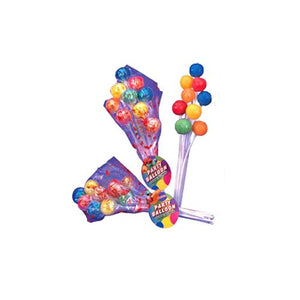 All City Candy Party Balloon Lollipops Bouquet Lollipops & Suckers Albert's Candy 1 Pack For fresh candy and great service, visit www.allcitycandy.com