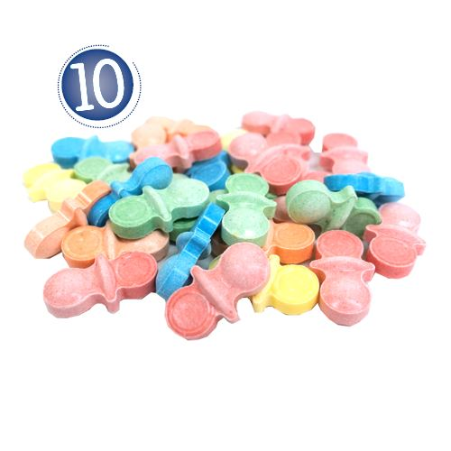 "Passover ""Top Ten Plagues"" Bucket For fresh candy and great service, visit us at www.allcitycandy.com"
