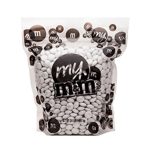 All City Candy Pearl M&M's Chocolate Candy - 2 LB Bulk Bag Bulk Unwrapped Mars Chocolate For fresh candy and great service, visit www.allcitycandy.com