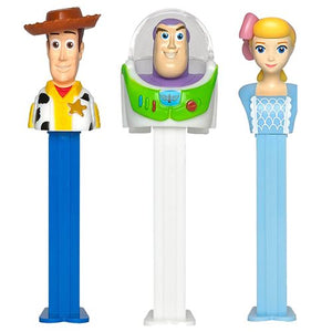 All City Candy PEZ Disney Toy Story 4 Collection Candy Dispenser - 1 Piece Blister Pack Novelty PEZ Candy For fresh candy and great service, visit www.allcitycandy.com