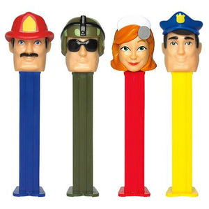All City Candy PEZ Heroes Collection Candy Dispenser - 1 Piece Blister Pack Novelty PEZ Candy Default Title For fresh candy and great service, visit www.allcitycandy.com
