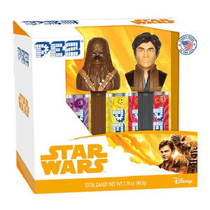All City Candy PEZ Star Wars Han Solo Candy Dispenser Twin Pack Gift Box Novelty PEZ Candy For fresh candy and great service, visit www.allcitycandy.com
