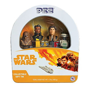 All City Candy PEZ Star Wars Han Solo Candy Dispensers Gift Tin Novelty PEZ Candy For fresh candy and great service, visit www.allcitycandy.com
