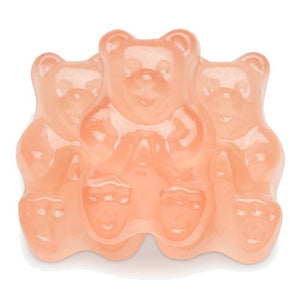 All City Candy Pink Grapefruit Gummi Bears - 5 LB Bulk Bag Bulk Unwrapped Albanese Confectionery Default Title For fresh candy and great service, visit www.allcitycandy.com