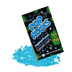 All City Candy Pop Rocks Tropical Punch Popping Candy - .33-oz. Package Novelty Pop Rocks (Zeta Espacial SA) 1 Package For fresh candy and great service, visit www.allcitycandy.com