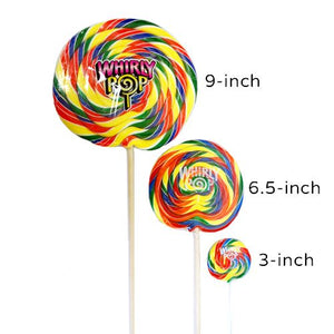 All City Candy Rainbow Whirly Pops Lollipops & Suckers Adams & Brooks For fresh candy and great service, visit www.allcitycandy.com