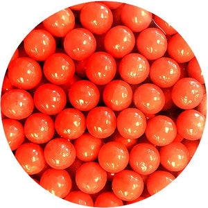 "All City Candy Red Color Splash 1/2"" Gumballs - 2 LB Bulk Bag Bulk Unwrapped Albert's Candy For fresh candy and great service, visit www.allcitycandy.com"