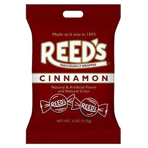 All City Candy Reed's Cinnamon Hard Candy - 4-oz. Bag Hard Iconic Candy For fresh candy and great service, visit www.allcitycandy.com