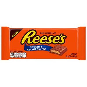 All City Candy Reese's Giant Candy Bar 6.5 oz. Candy Bars Hershey's For fresh candy and great service, visit www.allcitycandy.com