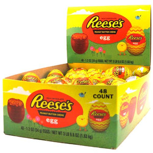 All City Candy Reese's Peanut Butter Creme Egg 1.2 oz. Easter Hershey's For fresh candy and great service, visit www.allcitycandy.com