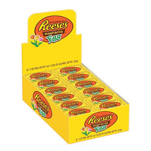 All City Candy Reese's Peanut Butter Egg 1.2 oz. Easter Hershey's Case of 36 For fresh candy and great service, visit www.allcitycandy.com