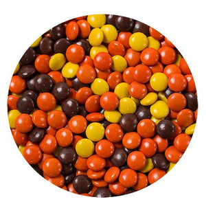 All City Candy Reese's Pieces Minis - 3 LB Bulk Bag Bulk Unwrapped Hershey's Default Title For fresh candy and great service, visit www.allcitycandy.com