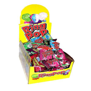 All City Candy Ring Pop Candy .5 oz. - Case of 24 Lollipops & Suckers Bazooka Candy Brands Default Title For fresh candy and great service, visit www.allcitycandy.com