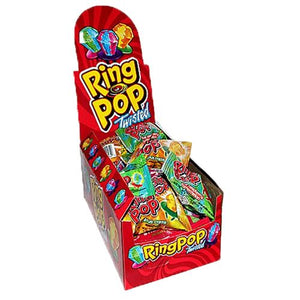 All City Candy Ring Pop Twisted Candy .5 oz. - Case of 24 Lollipops & Suckers Bazooka Candy Brands Default Title For fresh candy and great service, visit www.allcitycandy.com