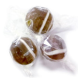 All City Candy Root Beer Buttons Hard Candy - 3 LB Bulk Bag Bulk Wrapped Atkinson's Candy For fresh candy and great service, visit www.allcitycandy.com