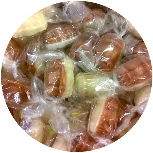 Root Beer Floats Hard Candy - 3 LB Bulk Bag For fresh candy and great service, visit us at www.allcitycandy.com