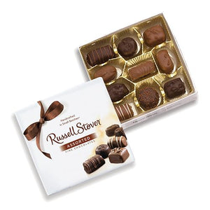 All City Candy Russell Stover Assorted Chocolates - 5.5-oz. Gift Box Chocolate Russell Stover For fresh candy and great service, visit www.allcitycandy.com
