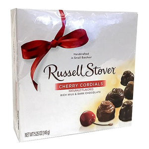 All City Candy Russell Stover Cherry Cordials - 5.25-oz. Gift Box Chocolate Russell Stover For fresh candy and great service, visit www.allcitycandy.com