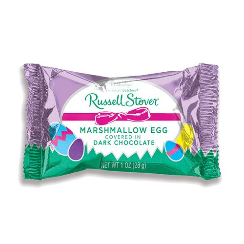 Russell Stover Chocolate & Marshmallow Eggs