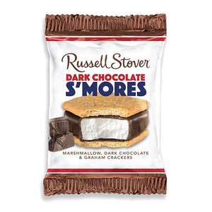 All City Candy Russell Stover Dark Chocolate S'mores Bar 1.3 oz. Candy Bars Russell Stover For fresh candy and great service, visit www.allcitycandy.com