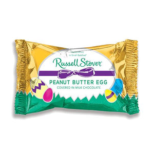 All City Candy Russell Stover Milk Chocolate Covered Peanut Butter Egg 1 oz. Easter Russell Stover For fresh candy and great service, visit www.allcitycandy.com