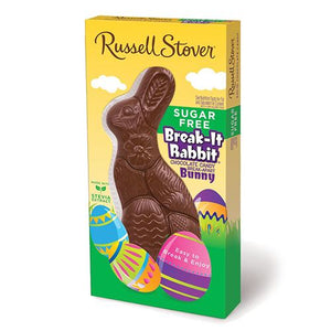 All City Candy Russell Stover Sugar Free Milk Chocolate Break-It Rabbit 4.5 oz. Easter Russell Stover For fresh candy and great service, visit www.allcitycandy.com
