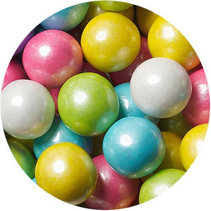 All City Candy Shimmer Spring Mix 1-Inch Gumballs - 2 LB Bulk Bag Bulk Unwrapped SweetWorks For fresh candy and great service, visit www.allcitycandy.com