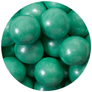 All City Candy Shimmer Turquoise 1-Inch Gumballs - 2 LB Bulk Bag Bulk Unwrapped SweetWorks Default Title For fresh candy and great service, visit www.allcitycandy.com