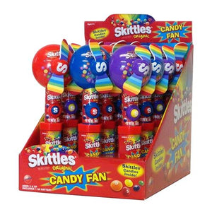 All City Candy Skittles Fan Candy Toy Novelty Candyrific Case of 12 For fresh candy and great service, visit www.allcitycandy.com