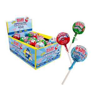 All City Candy Slush Puppie Sour Jawbreaker Lollipop Lollipops & Suckers Koko's Confectionery & Novelty Case of 40 For fresh candy and great service, visit www.allcitycandy.com