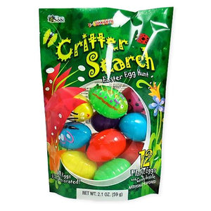 All City Candy Smarties Critter Search Easter Egg Hunt Candy Filled Eggs - Bag of 12 Easter Bee International Candy For fresh candy and great service, visit www.allcitycandy.com