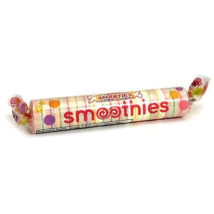 All City Candy Smarties Smoothies Candy Roll 2.25 oz. General Smarties Candy Company 1 Roll For fresh candy and great service, visit www.allcitycandy.com