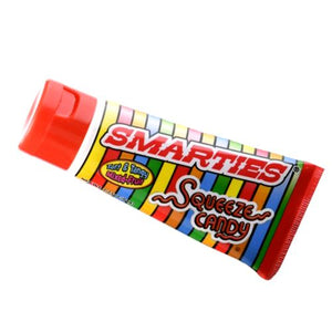 All City Candy Smarties Squeeze Candy - 2.25 oz. Tube Novelty Ford Gum & Machine Company 1 Tube For fresh candy and great service, visit www.allcitycandy.com