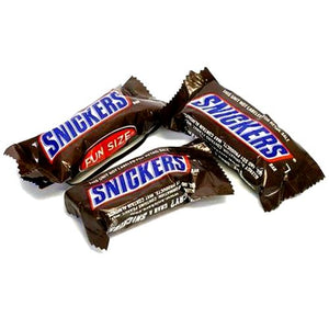 All City Candy Snickers Fun Size Candy Bars - 3 LB Bulk Bag Bulk Wrapped Mars Chocolate For fresh candy and great service, visit www.allcitycandy.com