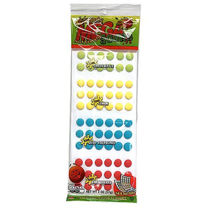 All City Candy Sour Mega Candy Buttons Novelty Stichler Products 1 2-oz. Pack For fresh candy and great service, visit www.allcitycandy.com